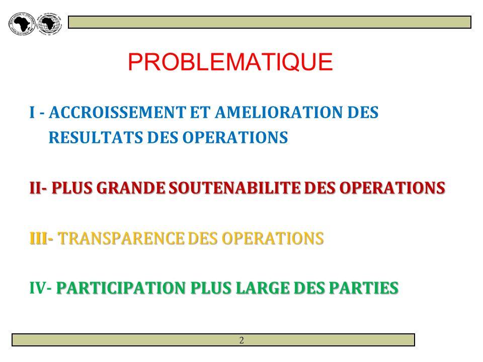 PRINCIPES DIRECTEURS DU NOUVEAU PARTENARIAT 1.RECONNAISSANCE DE LA SUBSIDIARITE DES 1.