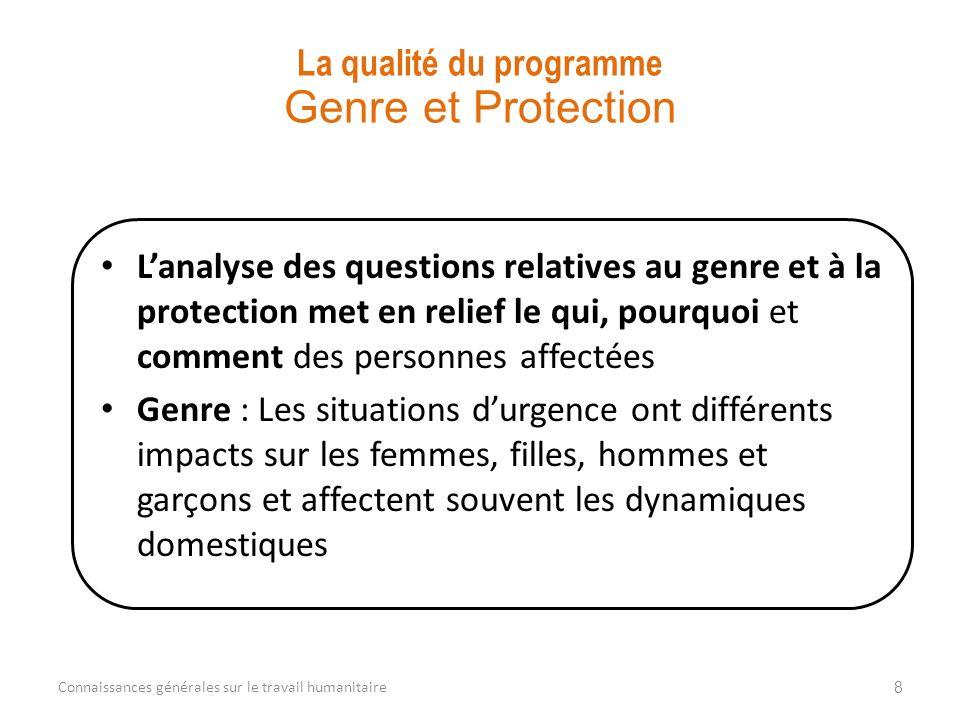 Protection : les communautés hôtes, personnes déplacées, refugiés, groupes minoritaires, etc.