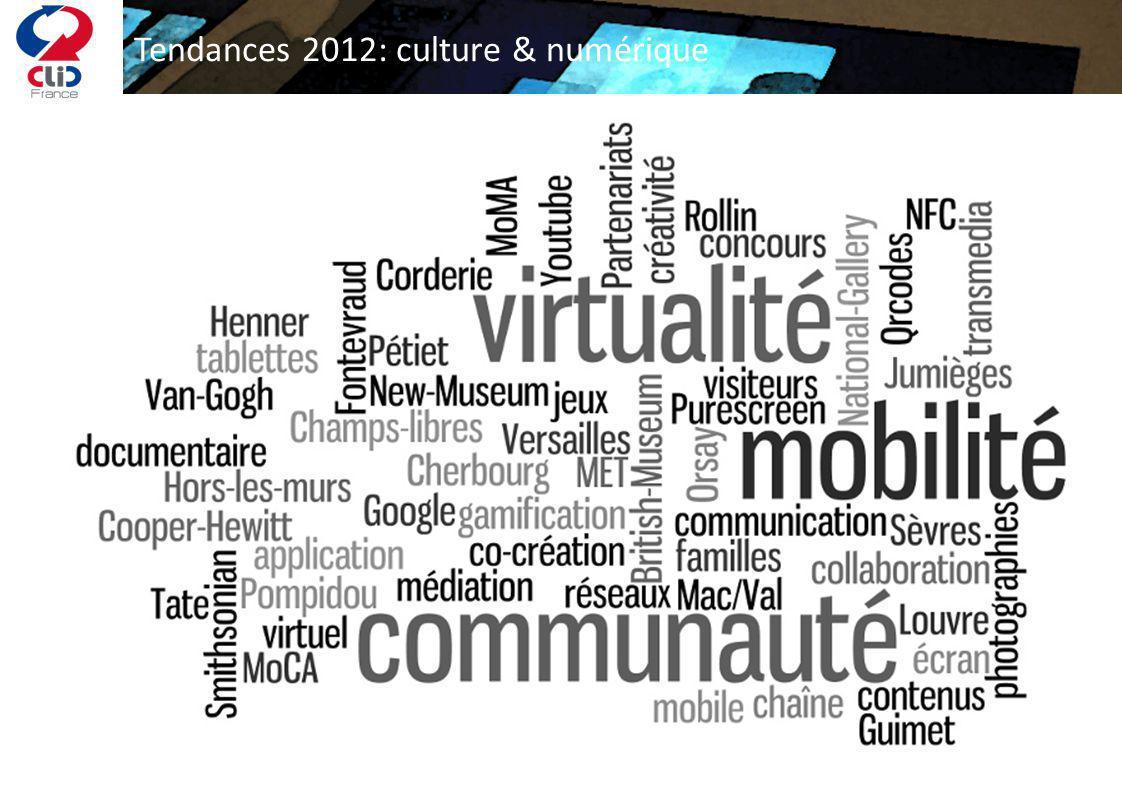 Tendances 2012: culture & numérique