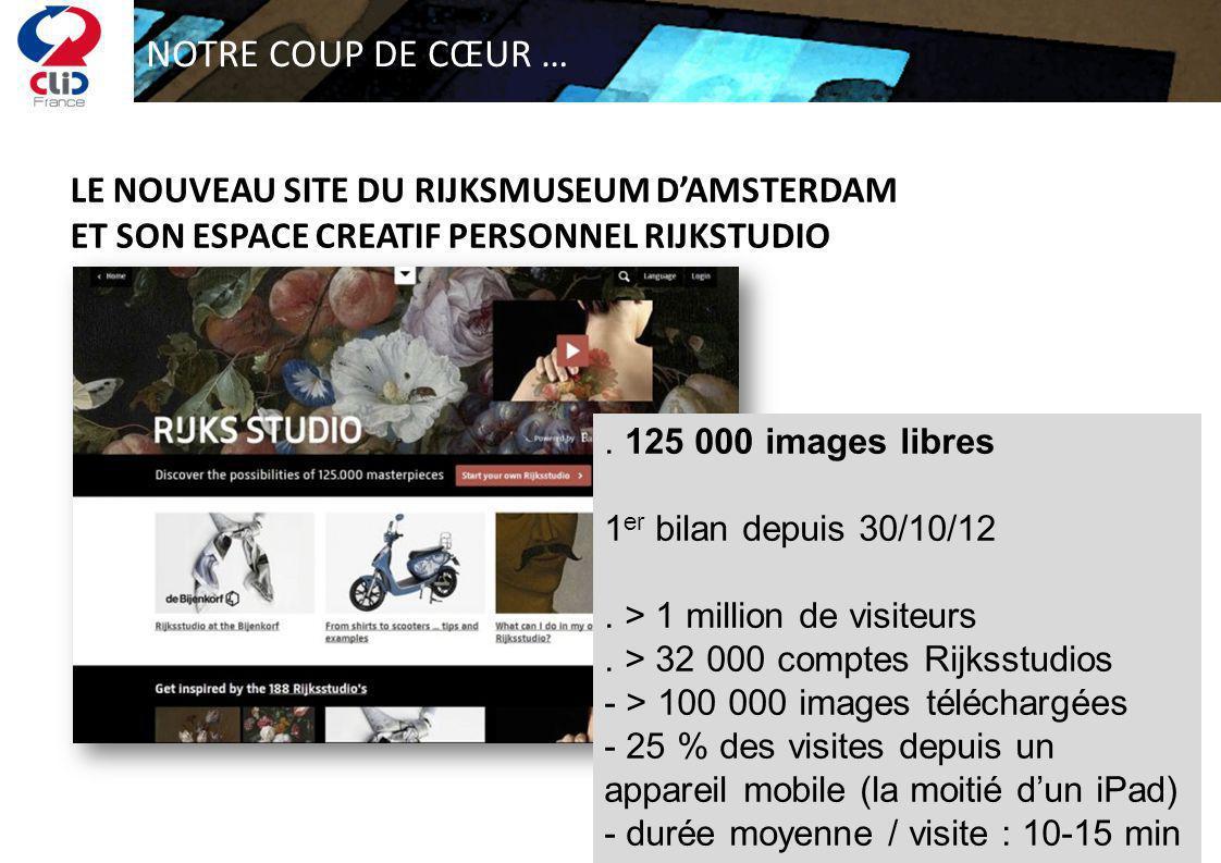 NOTRE COUP DE CŒUR … LE NOUVEAU SITE DU RIJKSMUSEUM DAMSTERDAM ET SON ESPACE CREATIF PERSONNEL RIJKSTUDIO. 125 000 images libres 1 er bilan depuis 30/