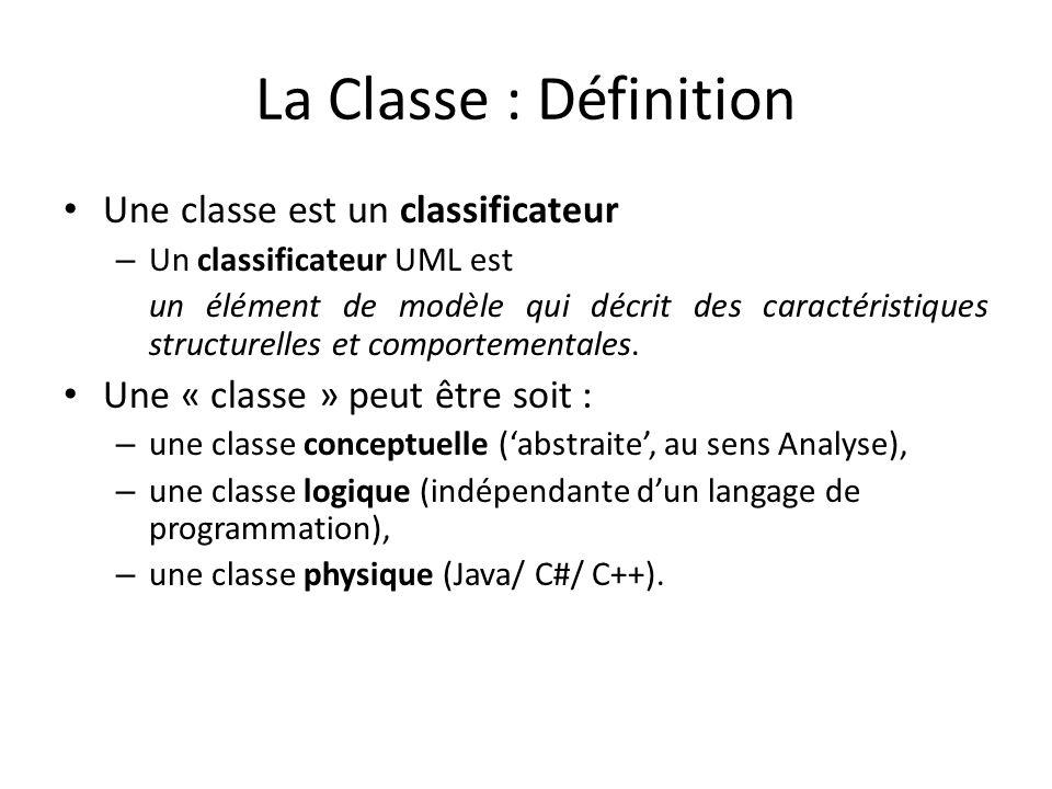 Classes singletons : Notation Avec la notation standard, on marque une classe singleton avec un 1 dans le coin supérieur droit de la classe.