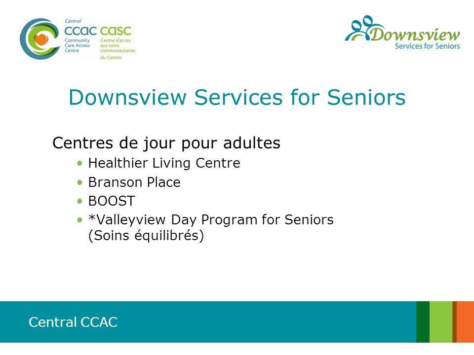 Central CCAC 8 14 CASC à travers lOntario, plus de 200 au total 7000 employés (5000 à temps plein) CASC fournissent leurs services dans le cadre du RLISS 1,7 $ milliard en 2007-2008 CASC – Qui nous sommes