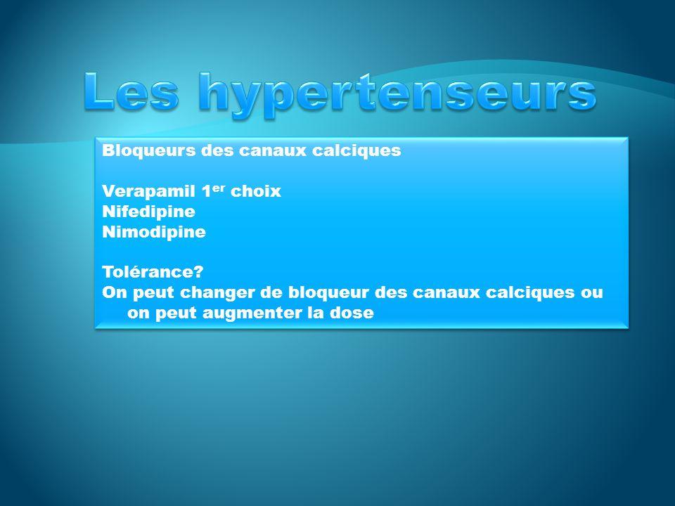 IECA – BRA IECA: inhibiteur de lenzyme de conversion de langiotensine lisinopril: 10 mg po die x1 semaine, puis augmenter à 20 mg po die BRA: bloqueurs des récepteurs de langiotensine II: Candesartan IECA – BRA IECA: inhibiteur de lenzyme de conversion de langiotensine lisinopril: 10 mg po die x1 semaine, puis augmenter à 20 mg po die BRA: bloqueurs des récepteurs de langiotensine II: Candesartan