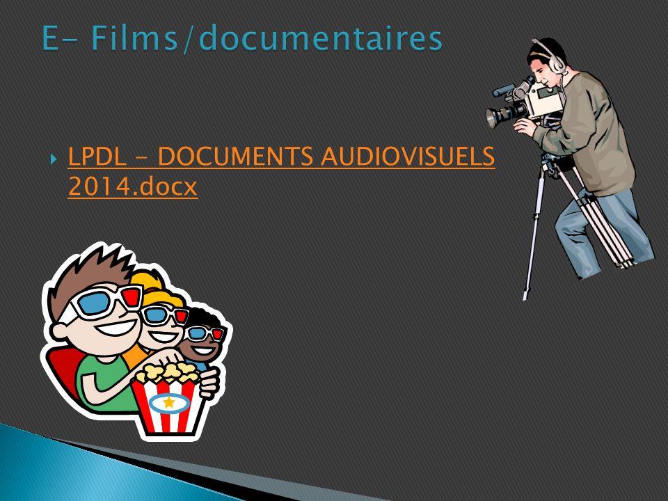 LPDL - DOCUMENTS AUDIOVISUELS 2014.docx LPDL - DOCUMENTS AUDIOVISUELS 2014.docx