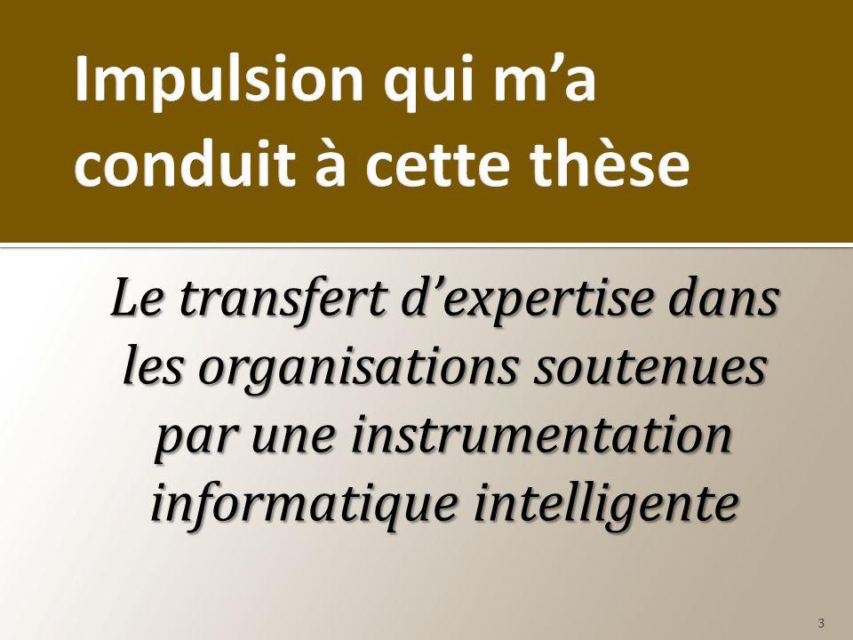 Le transfert dexpertise dans les organisations soutenues par une instrumentation informatique intelligente 3