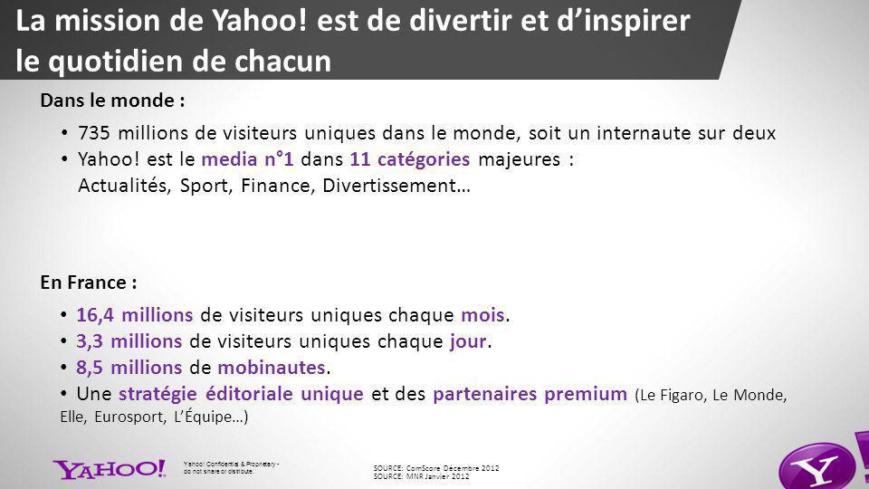 La mission de Yahoo.