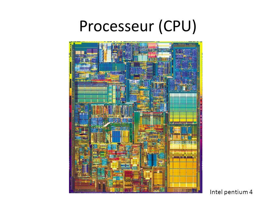 Processeur (CPU) Intel pentium 4