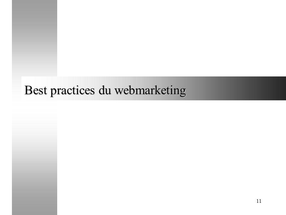 11 Best practices du webmarketing