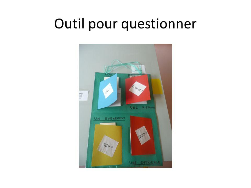 Outil pour questionner