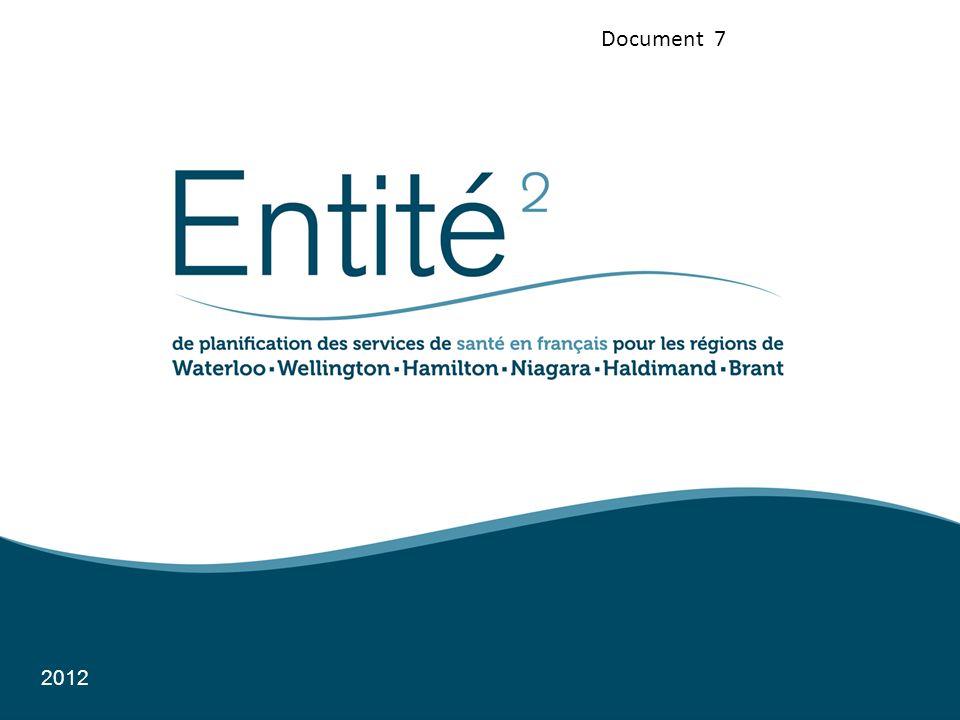 À lEntité 2 : Des engagements avec la communauté; Des partenariats avec les fournisseurs de services de santé (FSS); Des succès par rapport à loffre de services de santé en français.