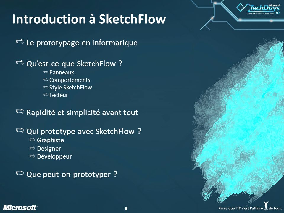 33 Introduction à SketchFlow Le prototypage en informatique Quest-ce que SketchFlow .