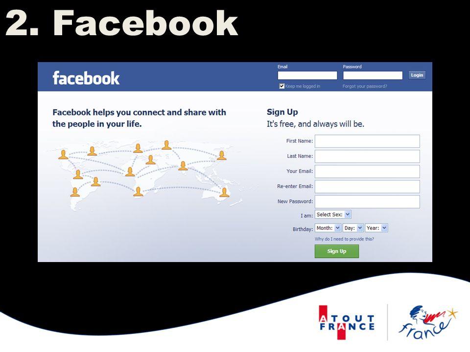 2. Facebook