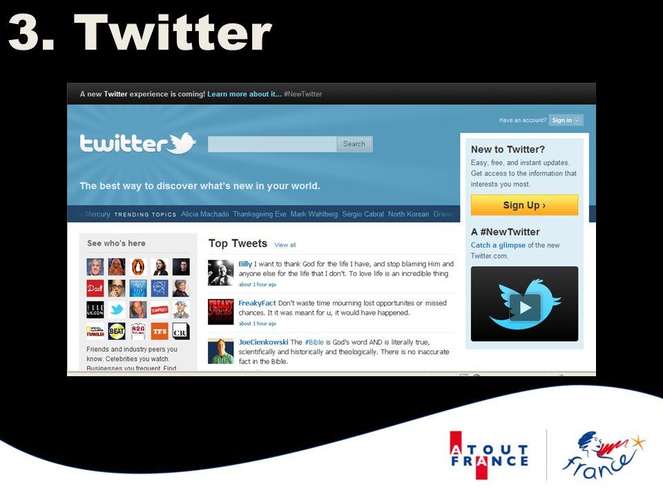 Twitter est un système déchange dinformations en temps réel permettant un contact permanent avec notre audience.