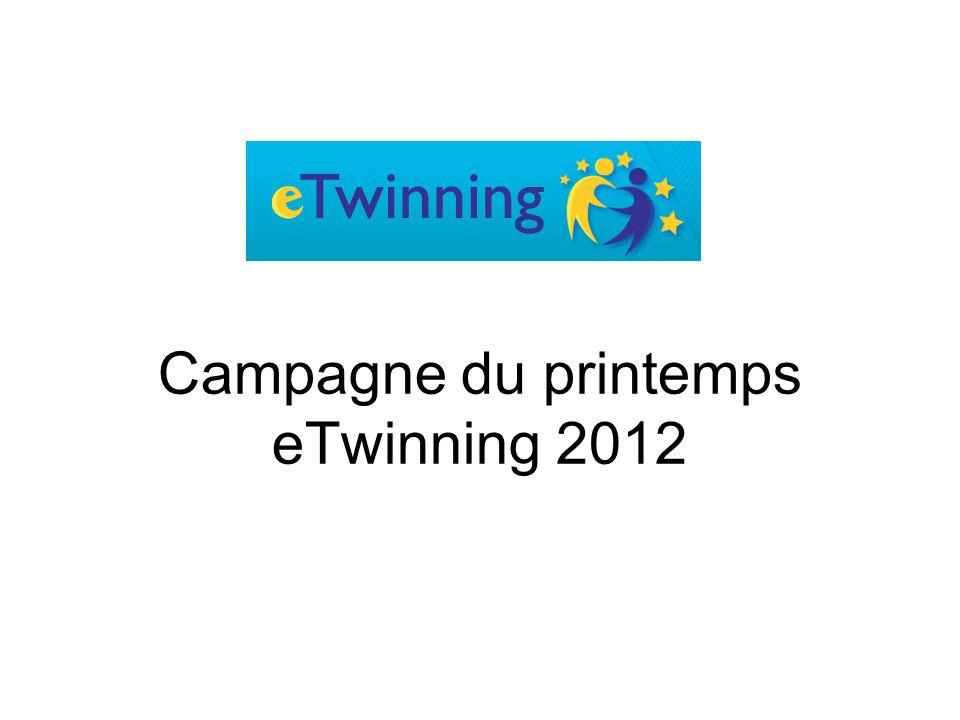 Campagne du printemps eTwinning 2012