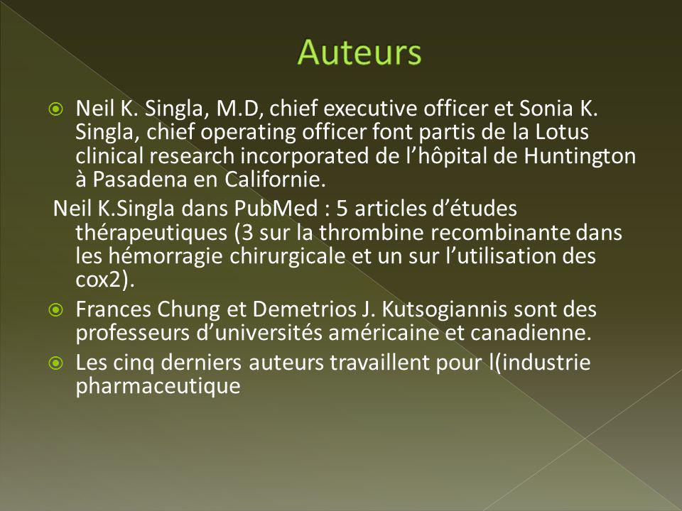 Neil K. Singla, M.D, chief executive officer et Sonia K. Singla, chief operating officer font partis de la Lotus clinical research incorporated de lhô