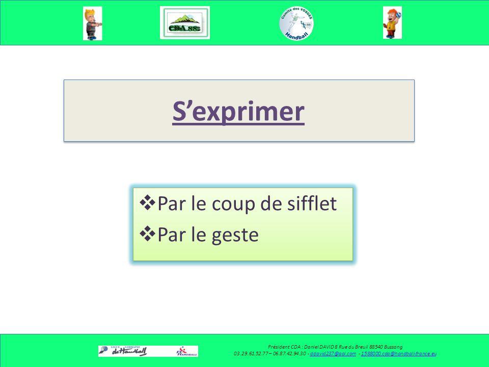 Le respect des rôles (Binômes) Président CDA : Daniel DAVID 8 Rue du Breuil 88540 Bussang 03.29.61.52.77 – 06.87.42.94.30 - ddavid237@aol.com - 158800