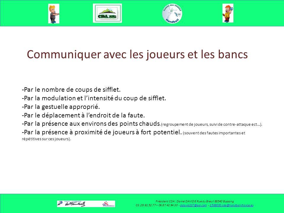 Communiquer avec le partenaire Président CDA : Daniel DAVID 8 Rue du Breuil 88540 Bussang 03.29.61.52.77 – 06.87.42.94.30 - ddavid237@aol.com - 158800