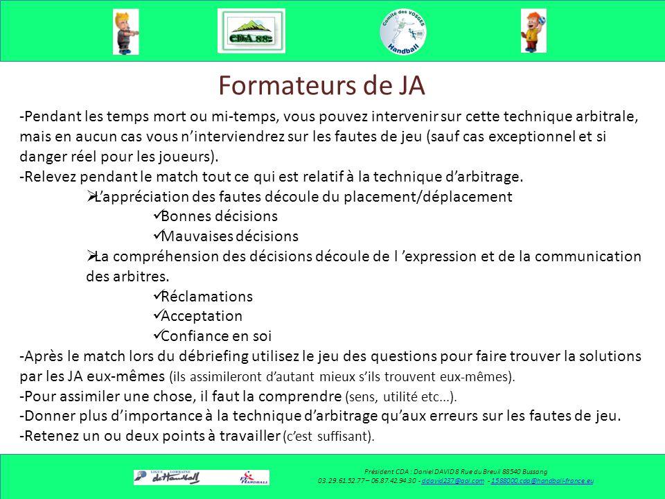 Communiquer avec la table de marque Président CDA : Daniel DAVID 8 Rue du Breuil 88540 Bussang 03.29.61.52.77 – 06.87.42.94.30 - ddavid237@aol.com - 1