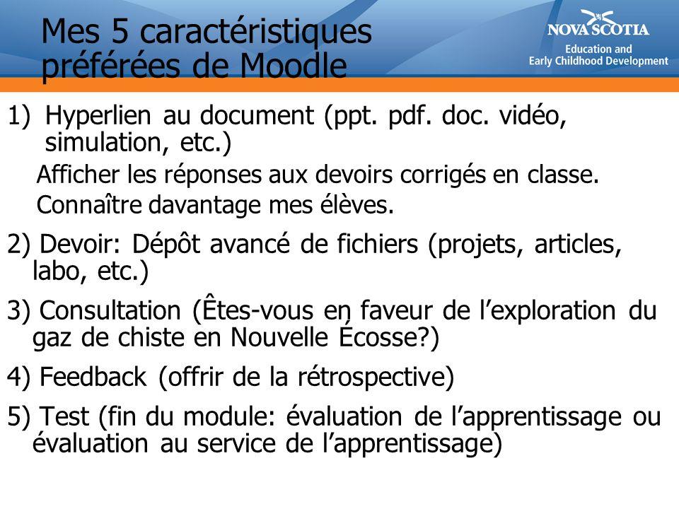 1)Hyperlien au document (ppt.pdf. doc.