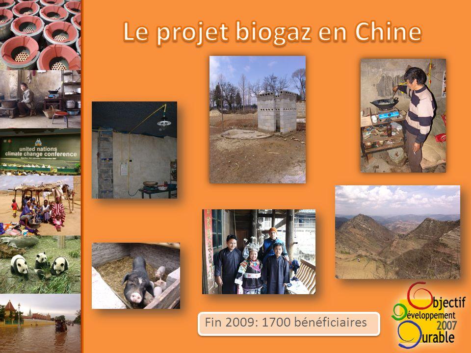 Fin 2009: 1700 bénéficiaires