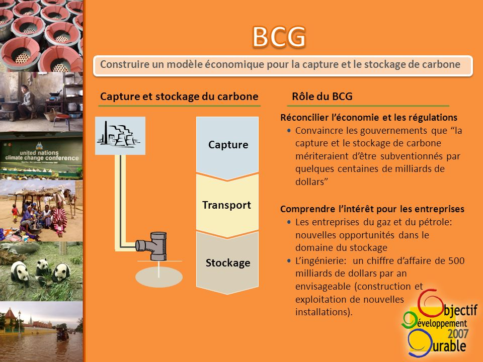 Cest un projet mené par lassociation SKG Sangha Le but est déquiper 500 familles en réservoirs de biogaz Le réservoir est complété par une unité de vermicompost qui permet de transformer les effluents liquides en compost