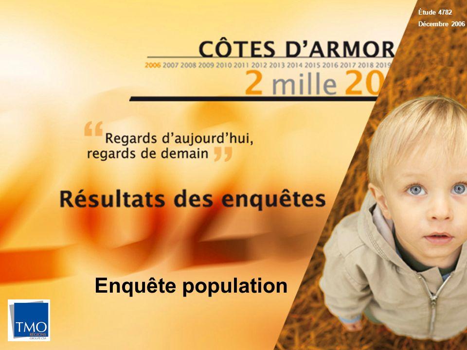 1 Étude 4782 Décembre 2006 Enquête population