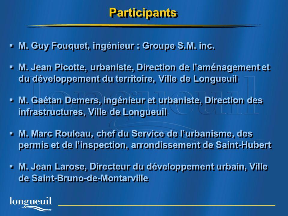 M.Guy Fouquet, ingénieur : Groupe S.M. inc. M.