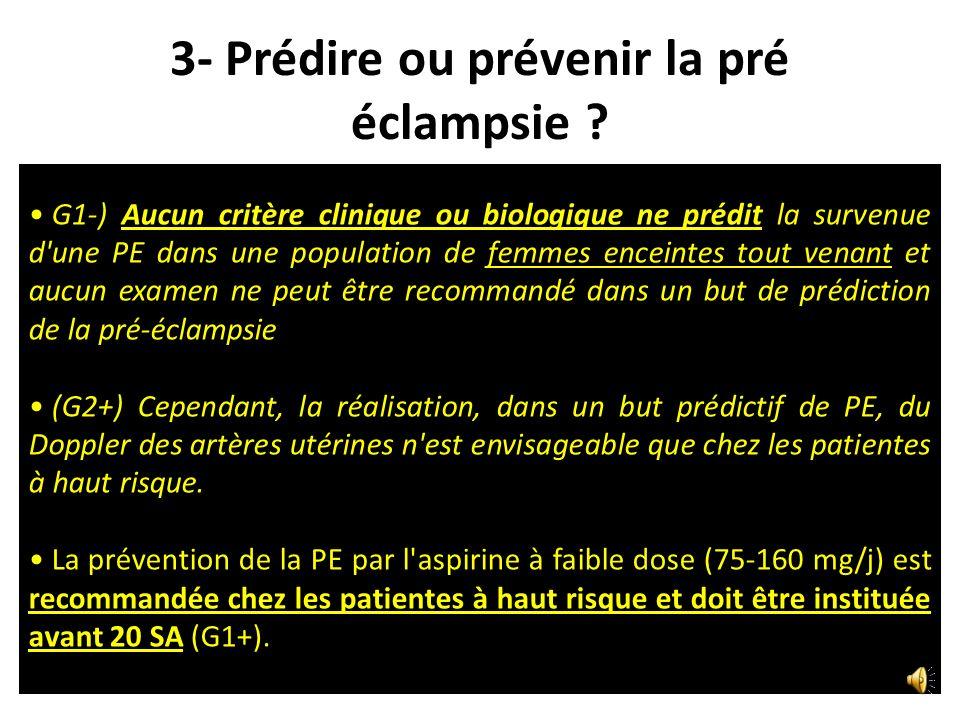 Hypertension et Protéinurie Luttun A (JCI 2003) et Davison JM (JASN 2004) Physiopathologie de la PE