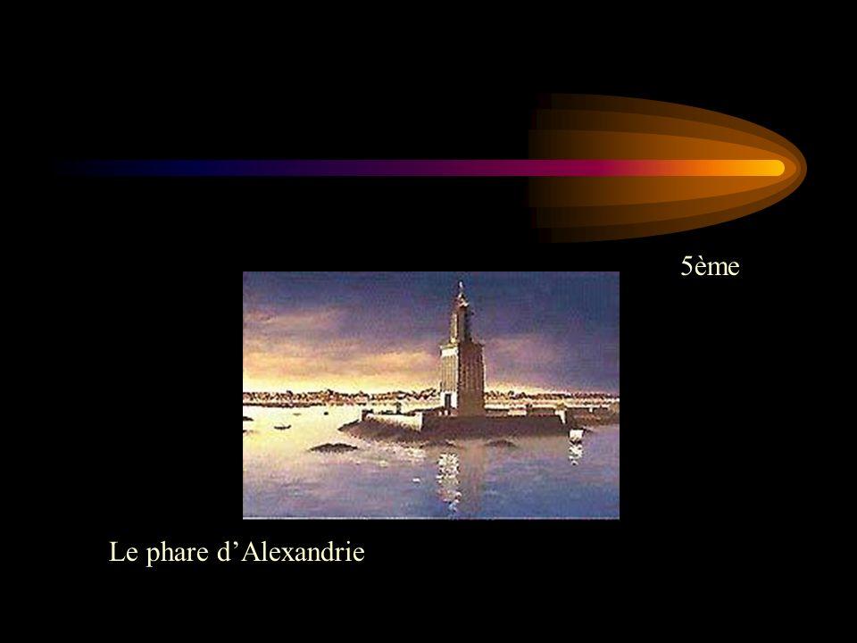 5ème Le phare dAlexandrie