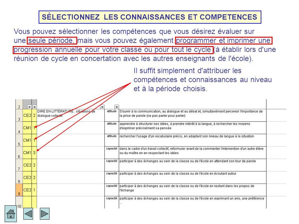 Livret personnel de compétences Précision importante : La programmation et le profil de ce livret informatisé permettent de voir sur la même page des compétences des programmes 2008 et des items du socle (en grisé).