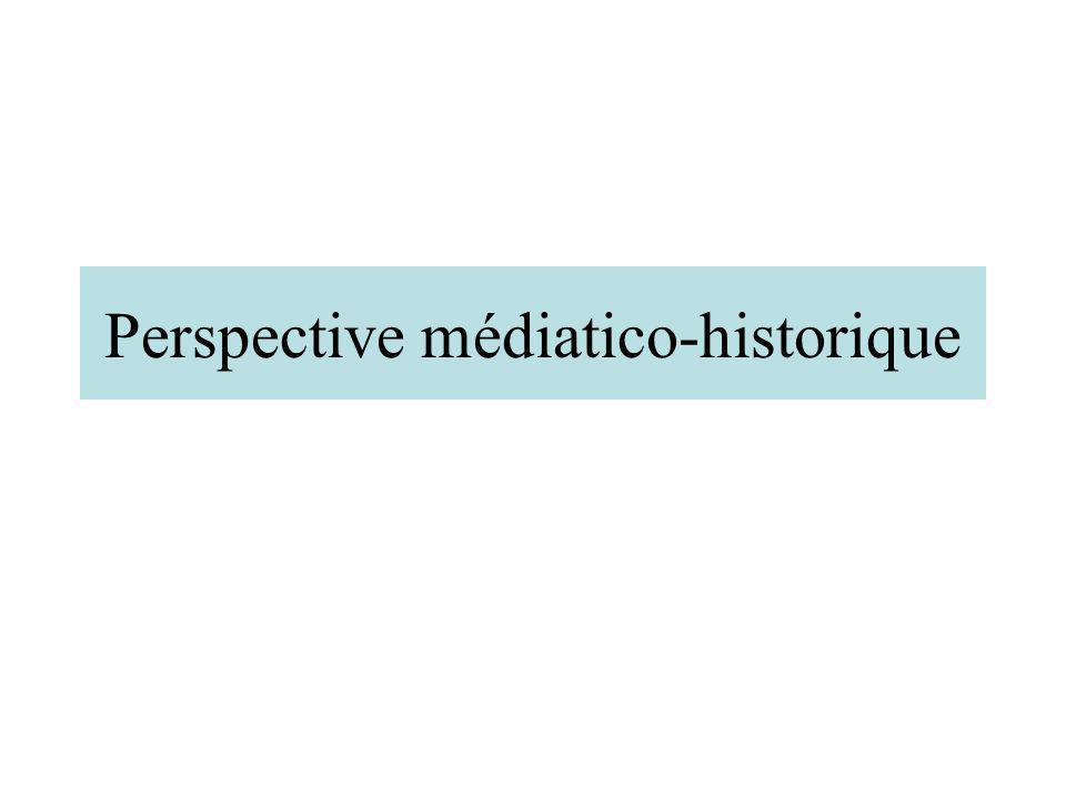 Perspective médiatico-historique