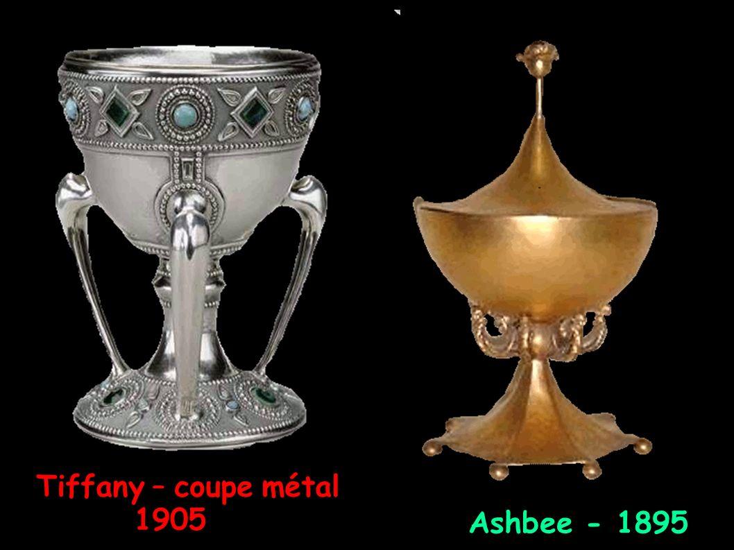 Tiffany – coupe métal 1905 Ashbee - 1895