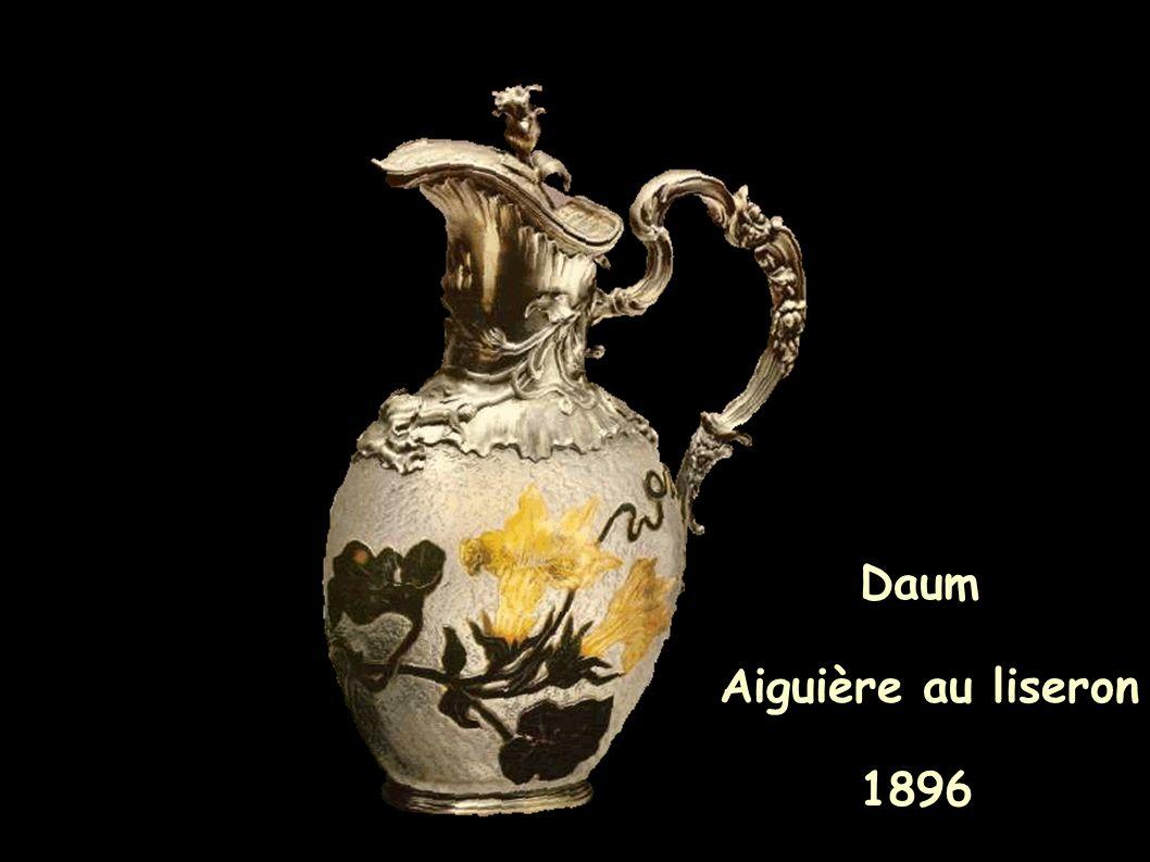Daum Aiguière au liseron 1896