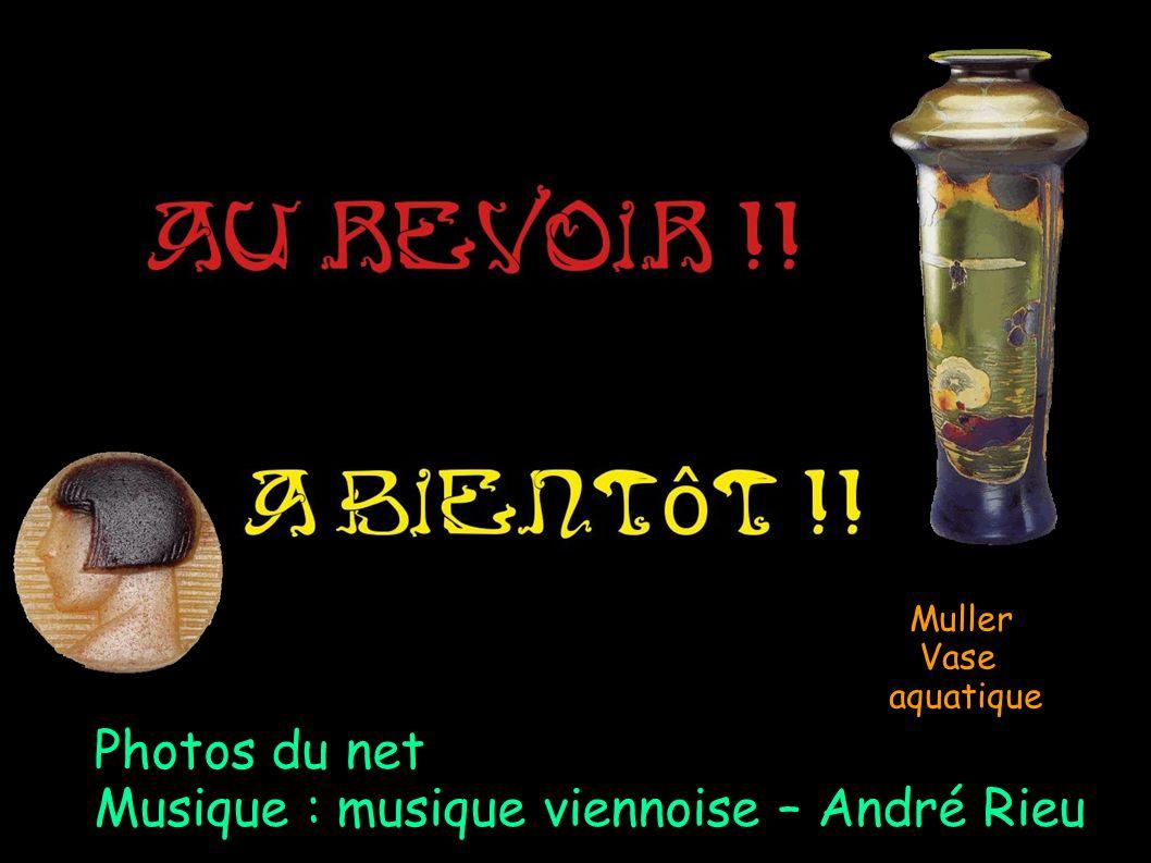 Muller Vase aquatique Photos du net Musique : musique viennoise – André Rieu