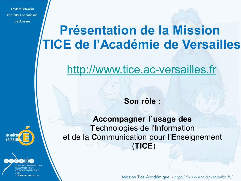 Frédéric Bonvoisin Conseiller Tice du bassin de Gonesse Nomadisme Frédéric Bonvoisin Conseiller Tice du bassin de Gonesse