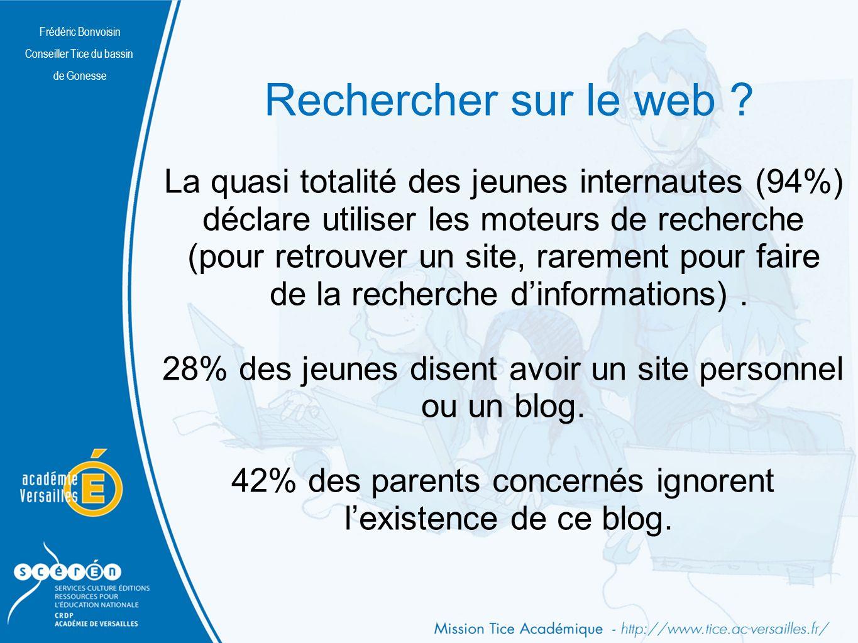 Frédéric Bonvoisin Conseiller Tice du bassin de Gonesse Rechercher sur le web .