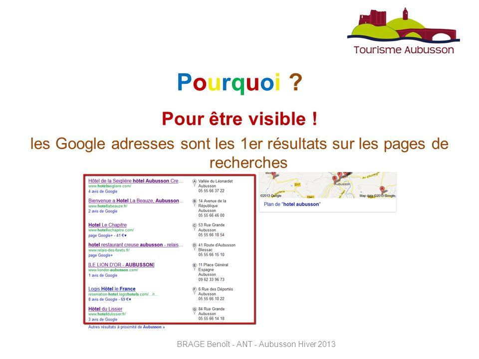 Google permet dassurer votre présence sur Internet, même si vous ne possédez pas de site Web.