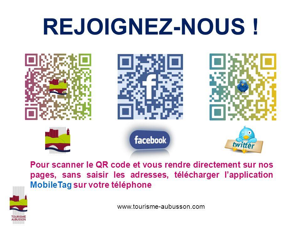 www.tourisme-aubusson.com REJOIGNEZ-NOUS .