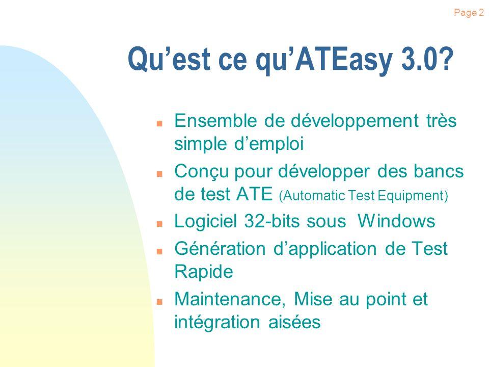 Page 12 Création dun Projet Cliquer sur l icône «Open» Sélectionner «Project» Saisir le nom désiré.