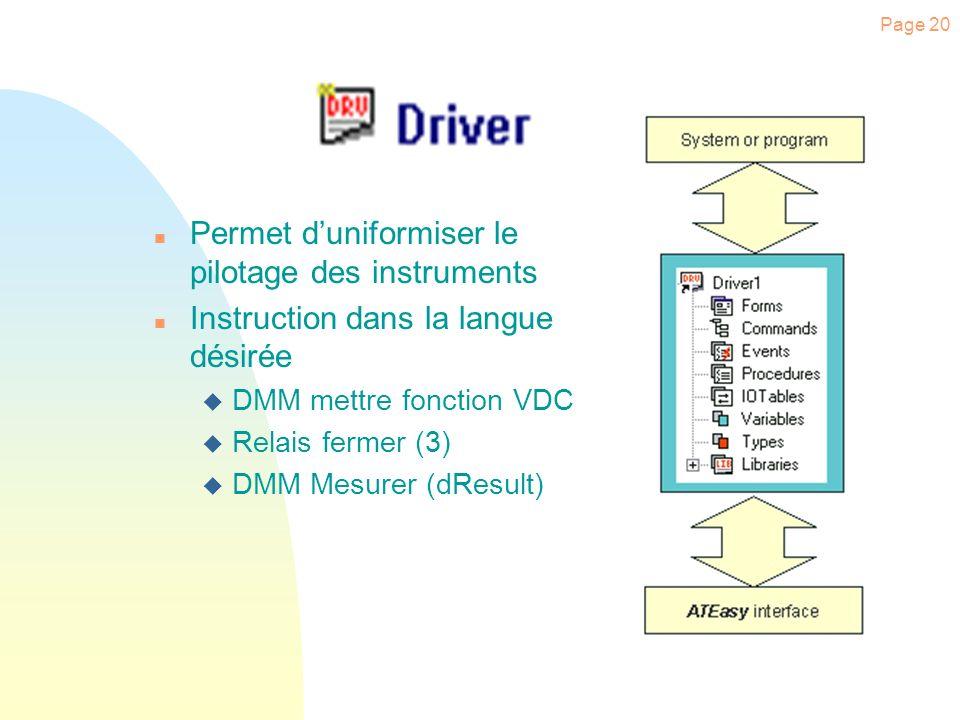 Page 19 Création dun Système Cliquer sur «Test1» Cliquer à l aide du bouton droit de la souris sur «System» Cliquer sur le menu «New System».