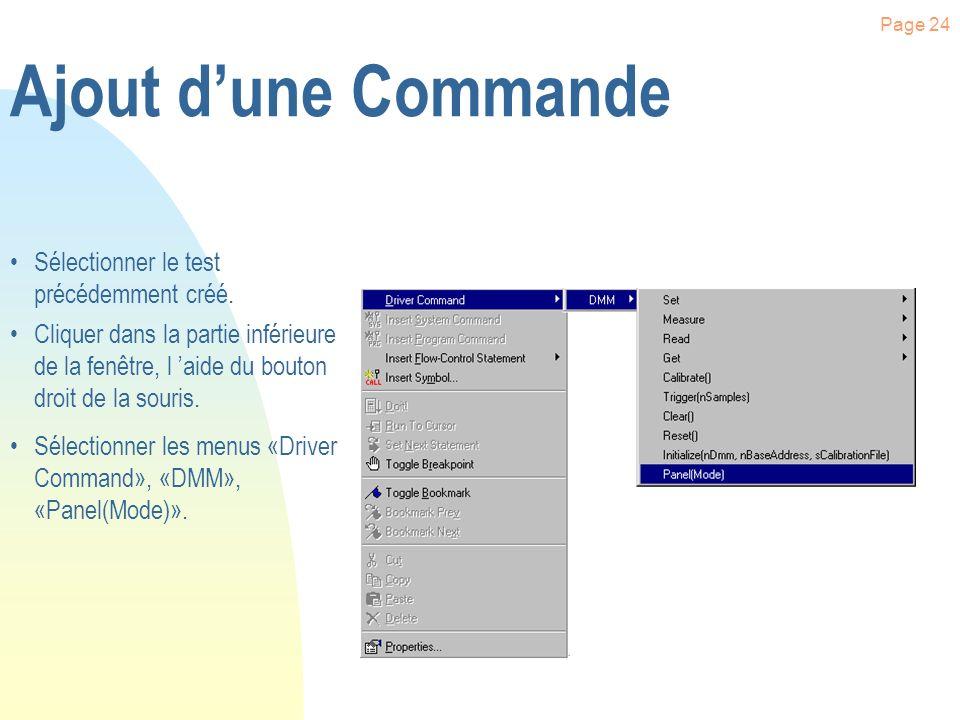 Page 23 Configuration des Drivers Cliquer sur l onglet «Interface ».