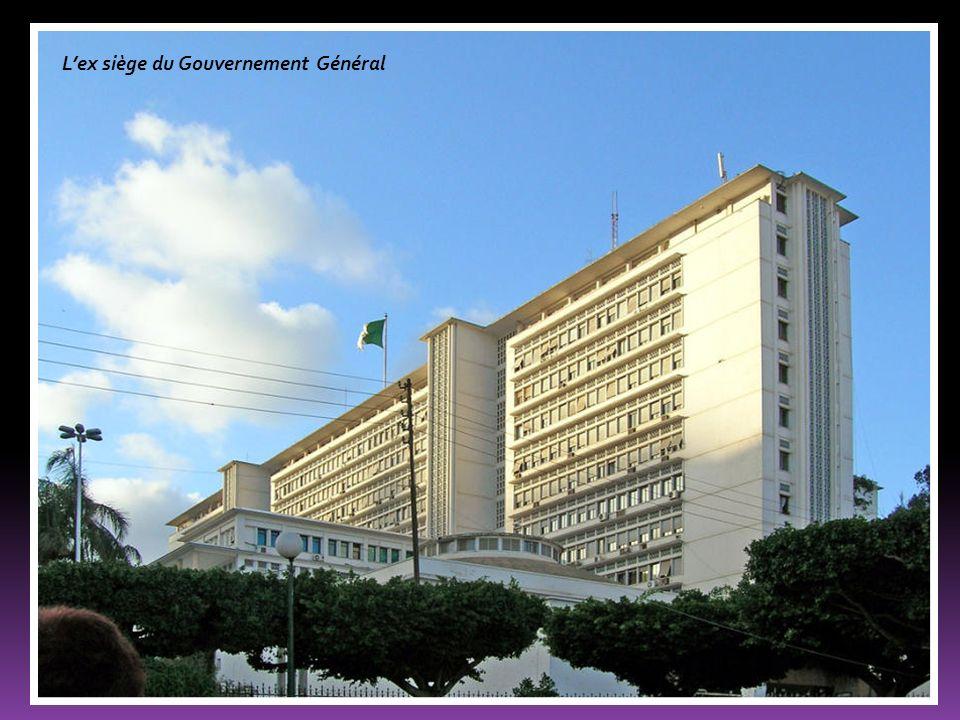 Lex siège du Gouvernement Général