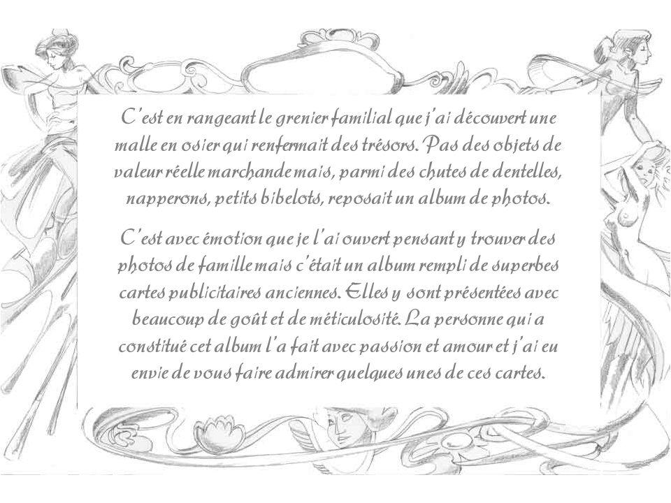 Toutes les cartes présentées dans ce diaporama ont été imprimées entre 1875 et 1890, cest-à-dire quelles sont dans les premières qui ont été lancées dans le commerce, puisque, cest en 1873 que les magasins de la Belle jardinière firent reproduire au recto des cartes officielles, de petites illustrations représentant leurs immeubles de la rue du Pont- Neuf, à Paris.