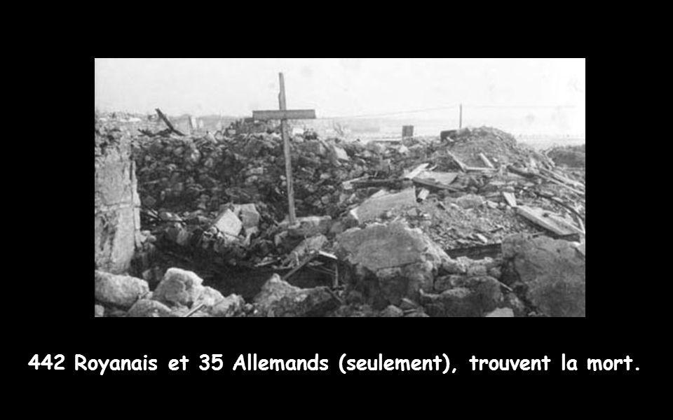 Le 5 janvier 45 (4h du matin),354 bombardiers Lancaster de la RAF déversent une pluie de plus 2 000 tonnes de bombes sur le centre ville. En 1 heures,