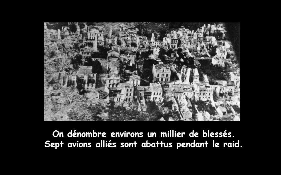 442 Royanais et 35 Allemands (seulement), trouvent la mort.