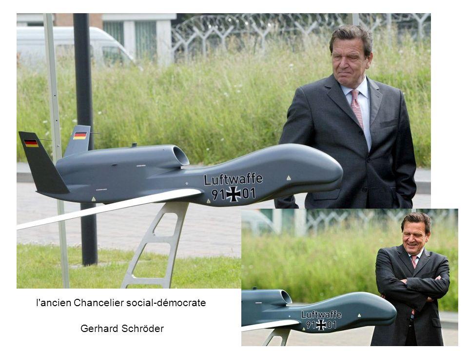 l ancien Chancelier social-démocrate Gerhard Schröder