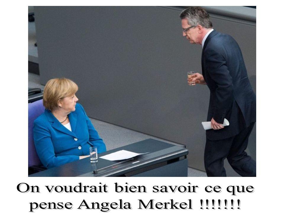 Le ministre de la défense allemand Thomas de Maizière, successeur potentiel de la Chancelière Angela Merkel, est menacé par le scandale de l'achat de