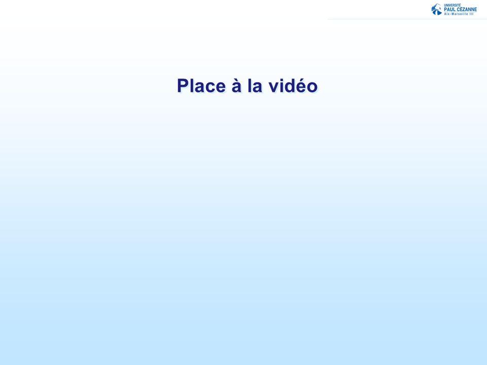 Place à la vidéo
