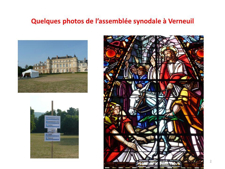 Quelques photos de lassemblée synodale à Verneuil 2