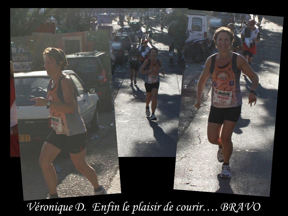 Véronique D. Enfin le plaisir de courir…. BRAVO